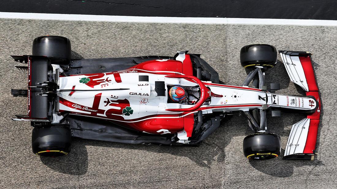 Kimi Räikkönen - Alfa Romeo - Imola - Formel 1 - GP Emilia Romagna - 17. April 2021