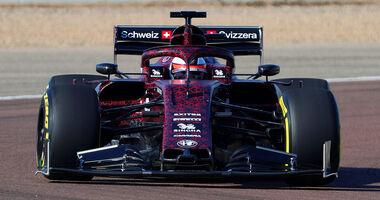 Kimi Räikkönen - Alfa Romeo Sauber C38 - Shakedown - Fiorano - 2019