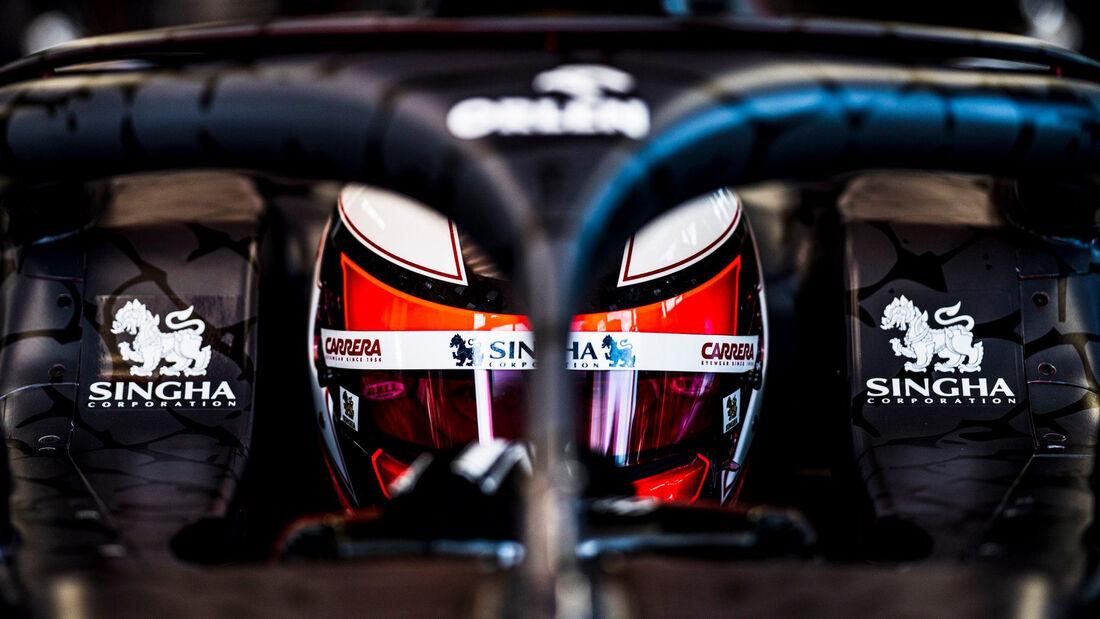Kimi Räikkönen - Alfa Romeo - Shakedown Fiorano - 2020