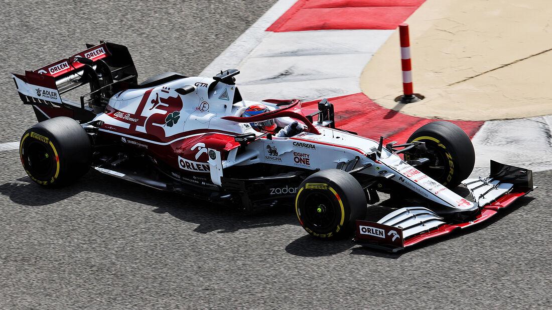 Kimi Räikkönen - Alfa Romeo - Test - Formel 1 - Bahrain - 12. März 2021