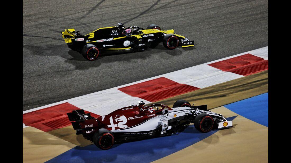 Kimi Räikkönen - Alfa Sauber - Formel 1 - GP Bahrain - 31. März 2019