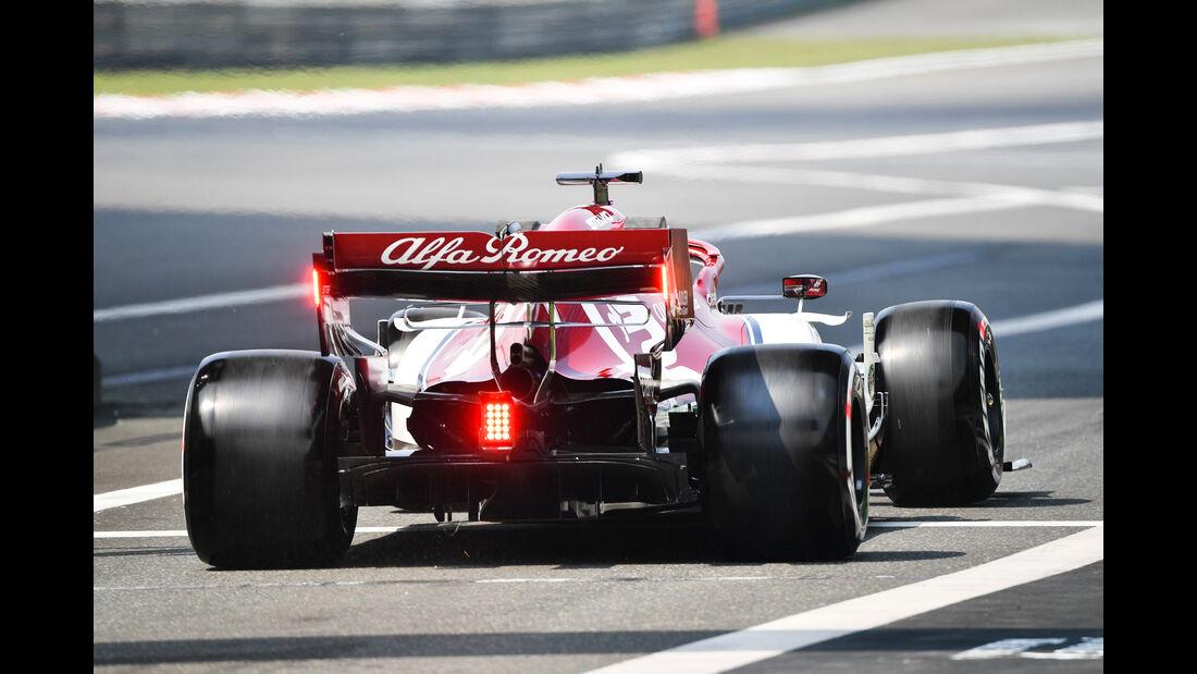 Kimi Räikkönen - Alfa-Sauber - GP China - Shanghai - Formel 1 - Freitag - 12.4.2019