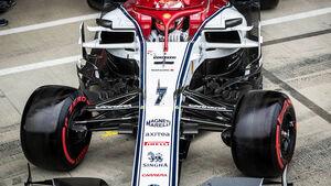 Kimi Räikkönen - Alfa-Sauber - GP England 2019 - Silverstone - Rennen