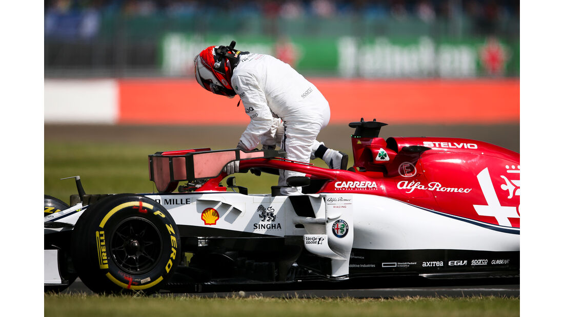 Kimi Räikkönen - Alfa-Sauber - GP England - Silverstone - Freitag - 12.7.2019