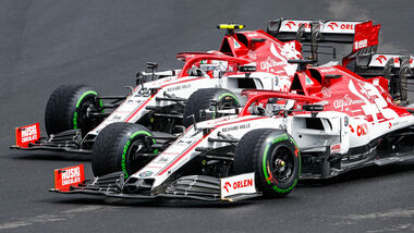 Kimi Räikkönen - Antonio Giovinazzi - Alfa Romeo - GP Ungarn - Budapest