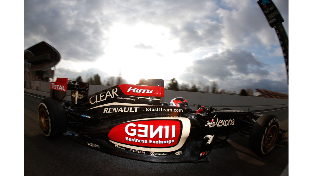 Kimi Räikkönen - Barcelona F1 Test 2013
