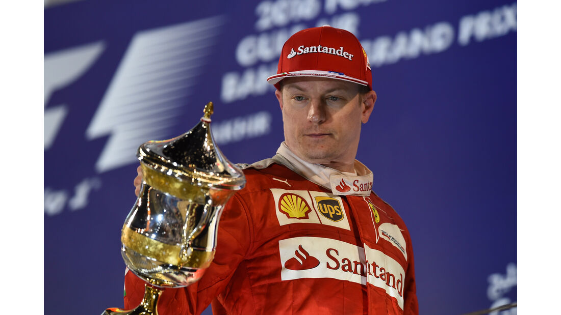 Kimi Räikkönen - Crazy Stats - GP Bahrain 2016
