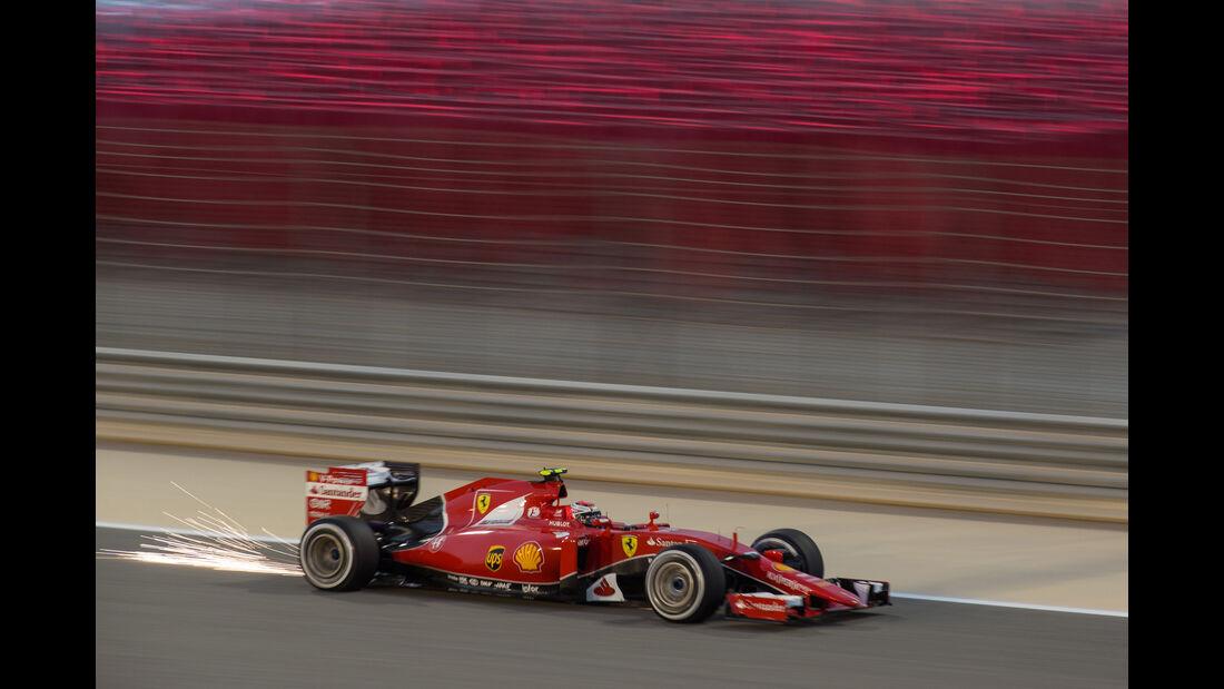 Kimi Räikkönen - Danis Bilderkiste - Formel 1 - GP Bahrain 2015