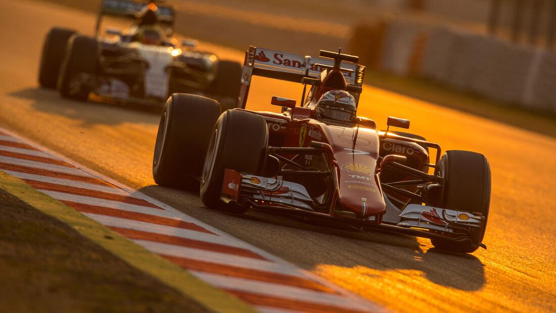 Kimi Räikkönen - F1-Test Barcelona - 2015