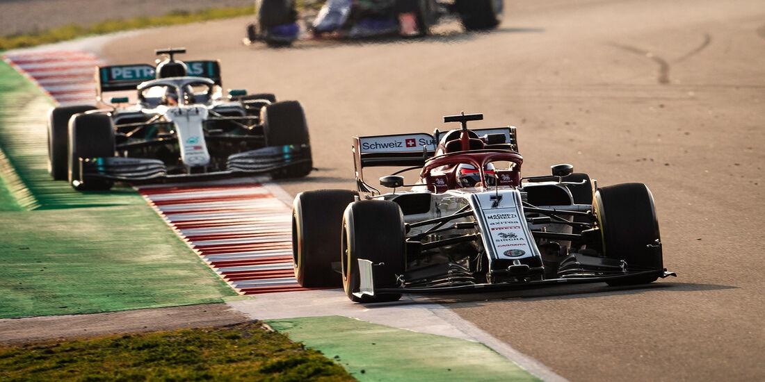 Kimi Räikkönen - F1-Test Barcelona - 2019