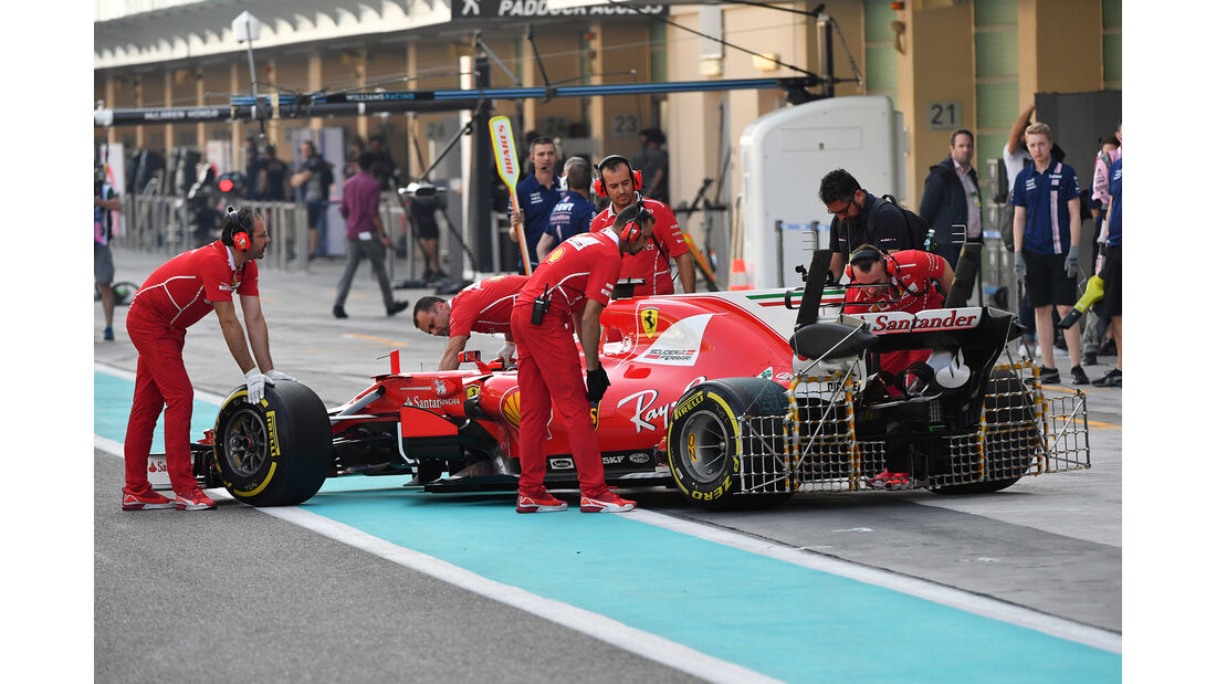Kimi Räikkönen - Ferrari - Abu Dhabi - Test 1 - 28. November 2017