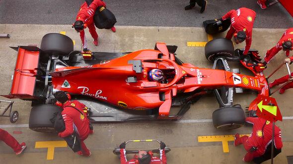 Kimi Räikkönen - Ferrari - Barcelona F1-Test 2018 - Tag 1