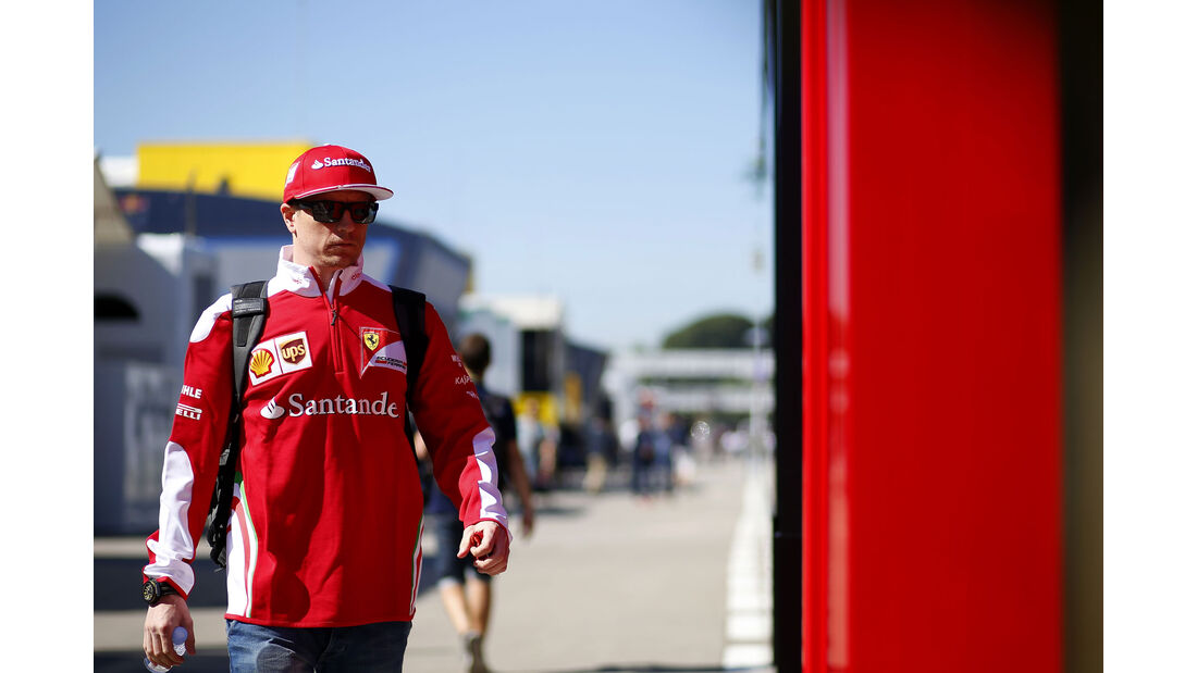 Kimi Räikkönen - Ferrari - F1 - GP Spanien - Barcelona - Donnerstag - 12.5.2016