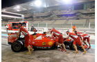 Kimi Räikkönen - Ferrari - F1 Test - Abu Dhabi - Dienstag - 1.12.2015