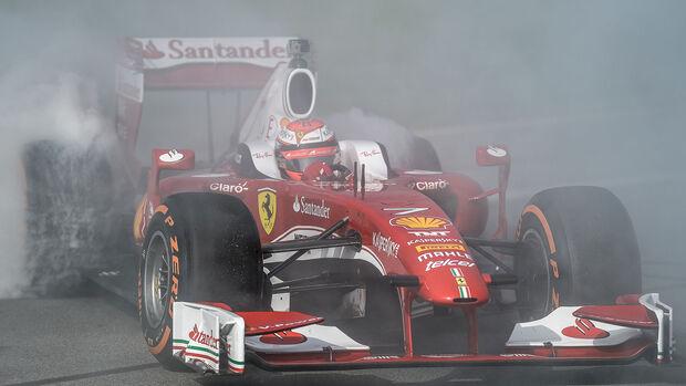 Kimi Räikkönen - Ferrari F60 - Finali Mondiali - Daytona