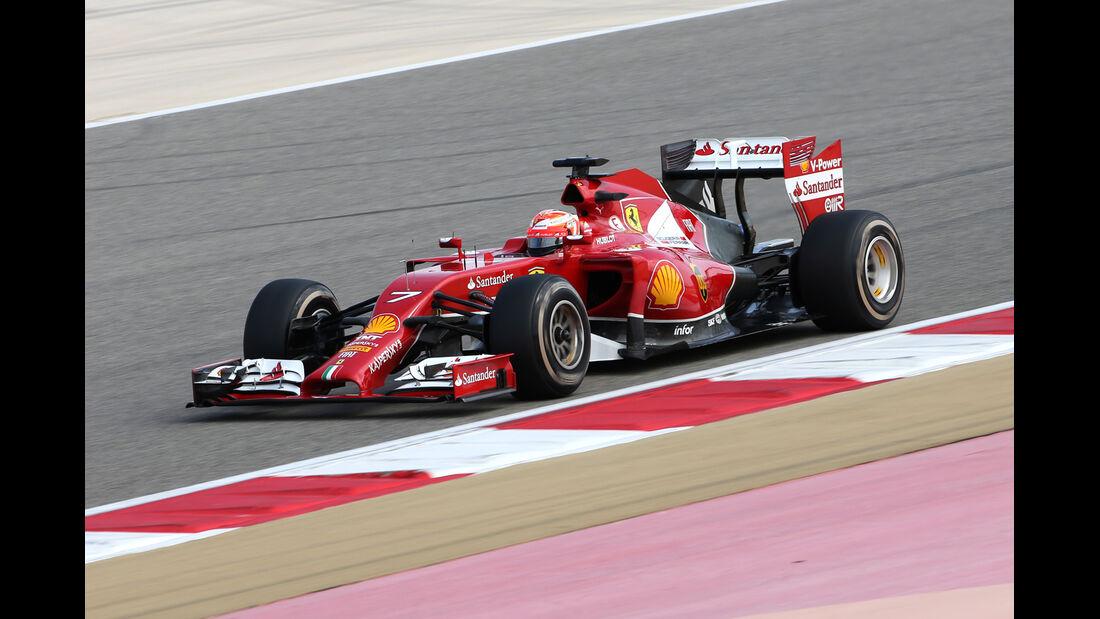 Kimi Räikkönen - Ferrari - Formel 1 - Bahrain - Test - 1. März 2014