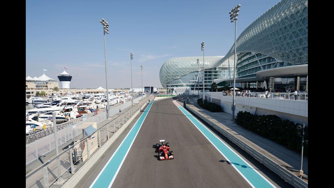 Kimi Räikkönen - Ferrari - Formel 1 - GP Abu Dhabi - 21. November 2014
