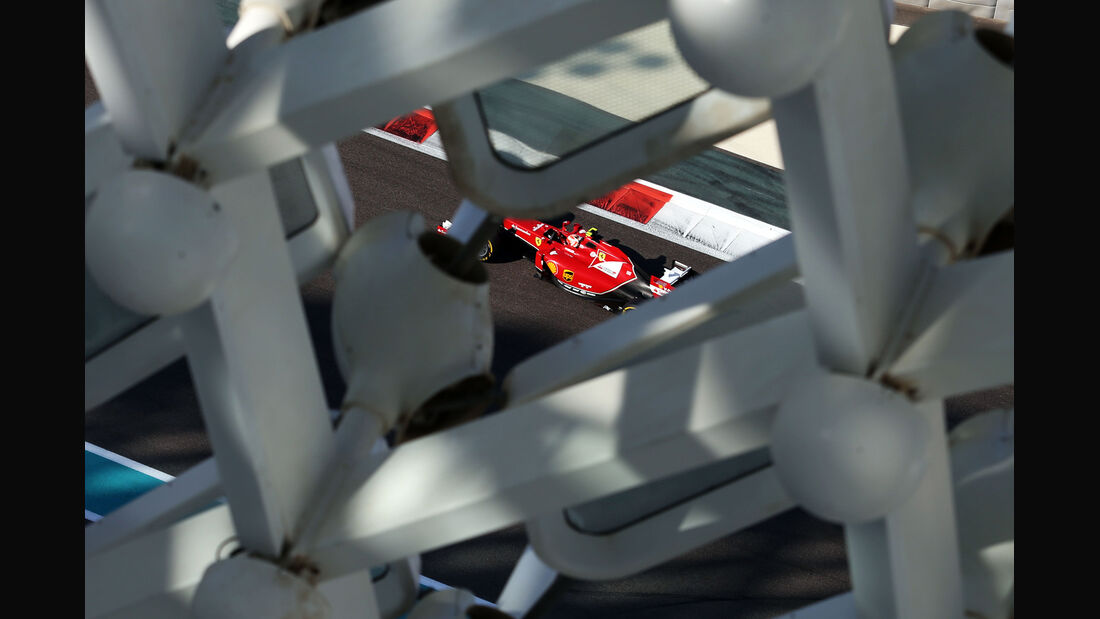 Kimi Räikkönen - Ferrari - Formel 1 - GP Abu Dhabi - 22. November 2014