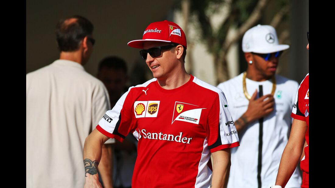 Kimi Räikkönen - Ferrari - Formel 1 - GP Abu Dhabi - 26. November 2015
