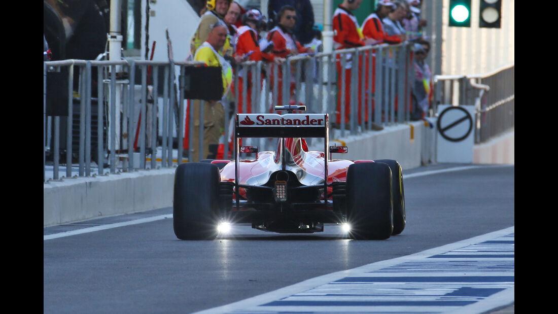 Kimi Räikkönen - Ferrari - Formel 1 - GP Abu Dhabi - 27. November 2015