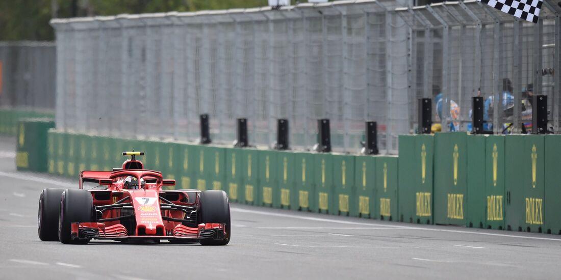 Kimi Räikkönen - Ferrari - Formel 1 - GP Aserbaidschan - 29. April 2018