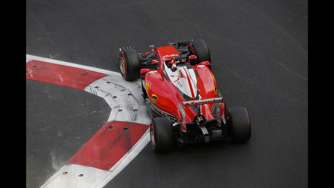 Kimi Räikkönen - Ferrari - Formel 1 - GP Aserbaidschan - Baku - 18. Juni 2016