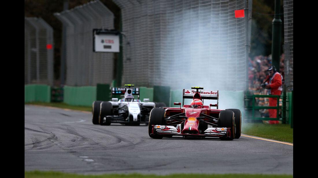 Kimi Räikkönen - Ferrari - Formel 1 - GP Australien - 16. März 2014