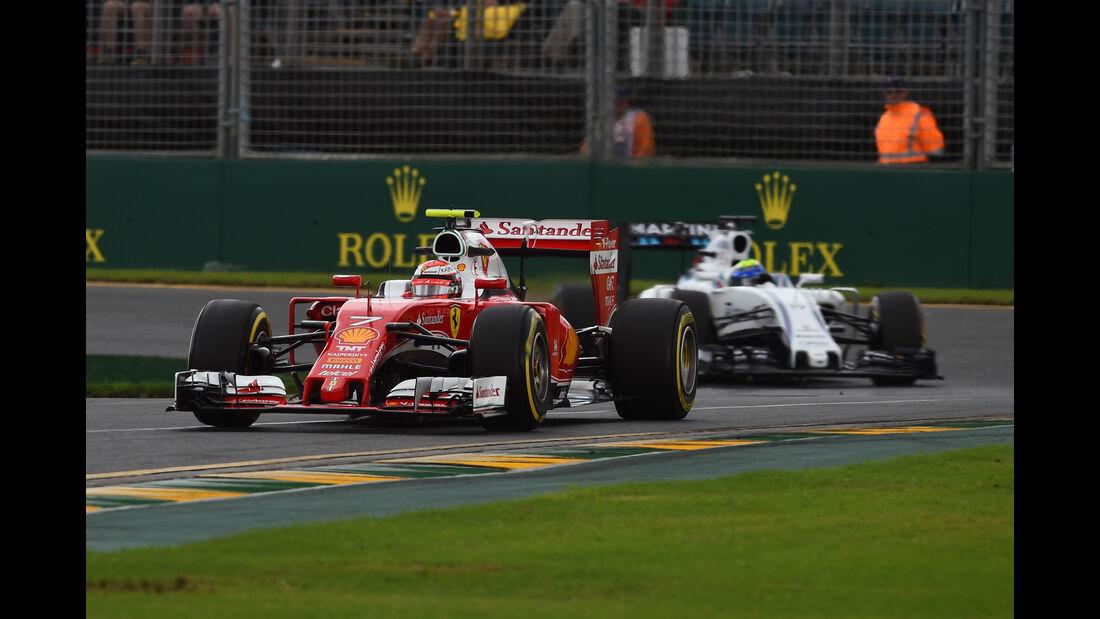 Kimi Räikkönen - Ferrari - Formel 1 - GP Australien - Melbourne - 18. März 2016