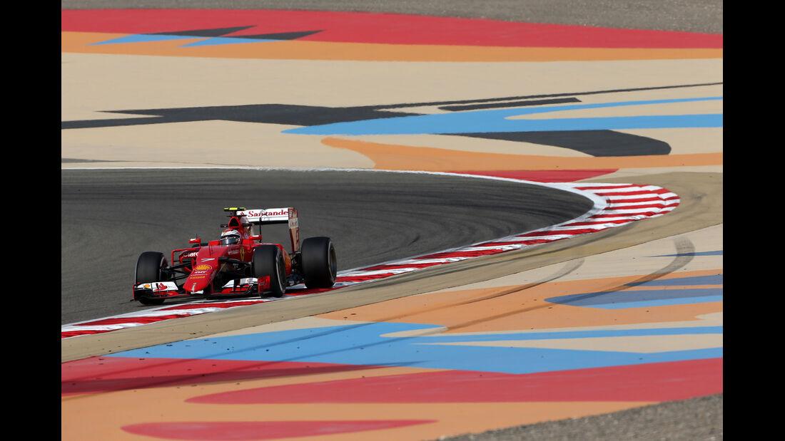 Kimi Räikkönen - Ferrari - Formel 1 - GP Bahrain - 17. April 2015