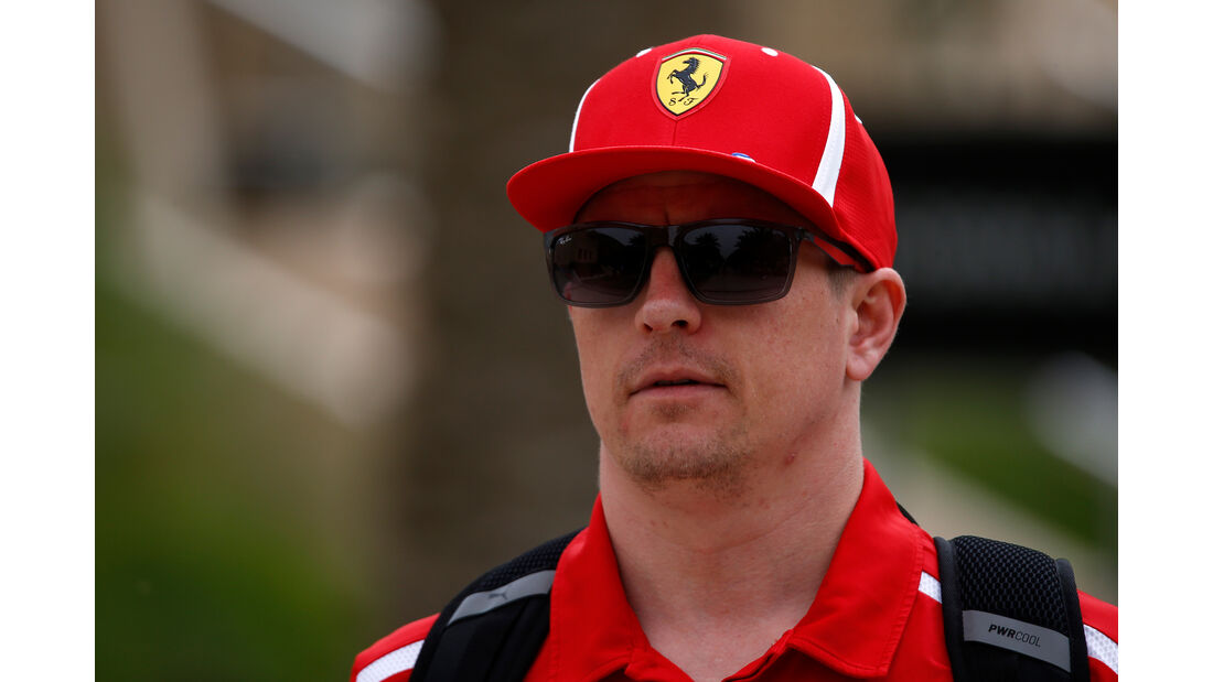 Kimi Räikkönen - Ferrari - Formel 1 - GP Bahrain - 5. April 2018