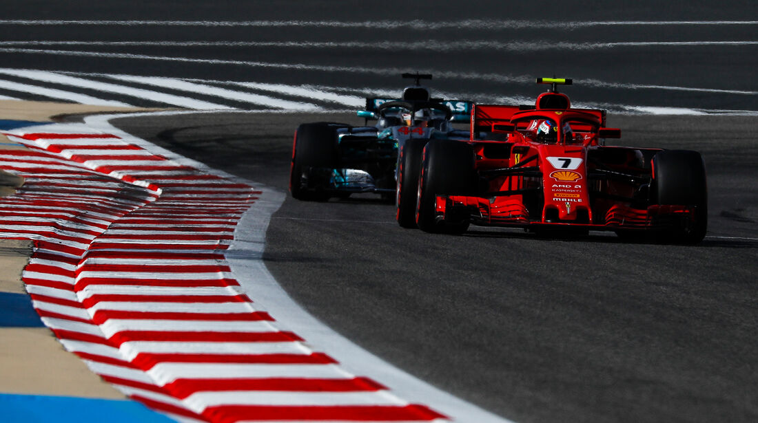 Kimi Räikkönen - Ferrari - Formel 1 - GP Bahrain - 7. April 2018