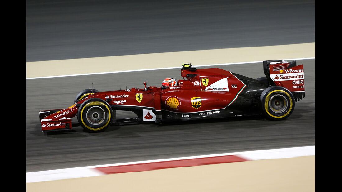 Kimi Räikkönen - Ferrari - Formel 1 - GP Bahrain - Sakhir - 4. April 2014