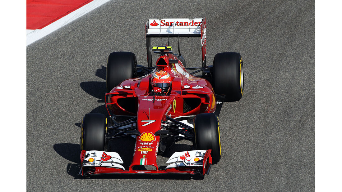 Kimi Räikkönen - Ferrari - Formel 1 - GP Bahrain - Sakhir - 5. April 2014
