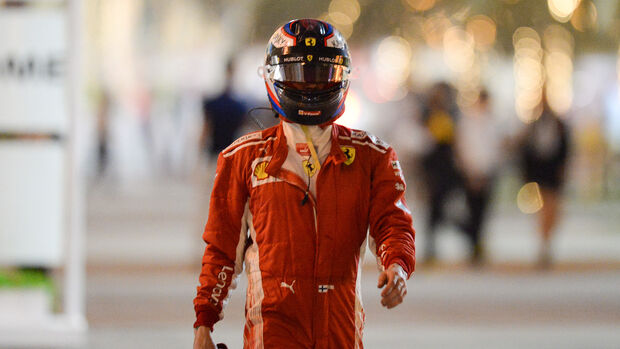 Kimi Räikkönen - Ferrari - Formel 1 - GP Bahrain - Training - 6. April 2018
