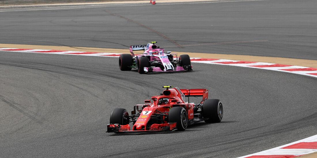Kimi Räikkönen - Ferrari - Formel 1 - GP Bahrain - Training - 6. April 2018