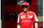 Kimi Räikkönen - Ferrari - Formel 1 - GP Belgien - Spa-Francorchamps - 20. August 2015