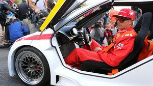 Kimi Räikkönen - Ferrari - Formel 1 - GP Belgien - Spa-Francorchamps - 21. August 2014