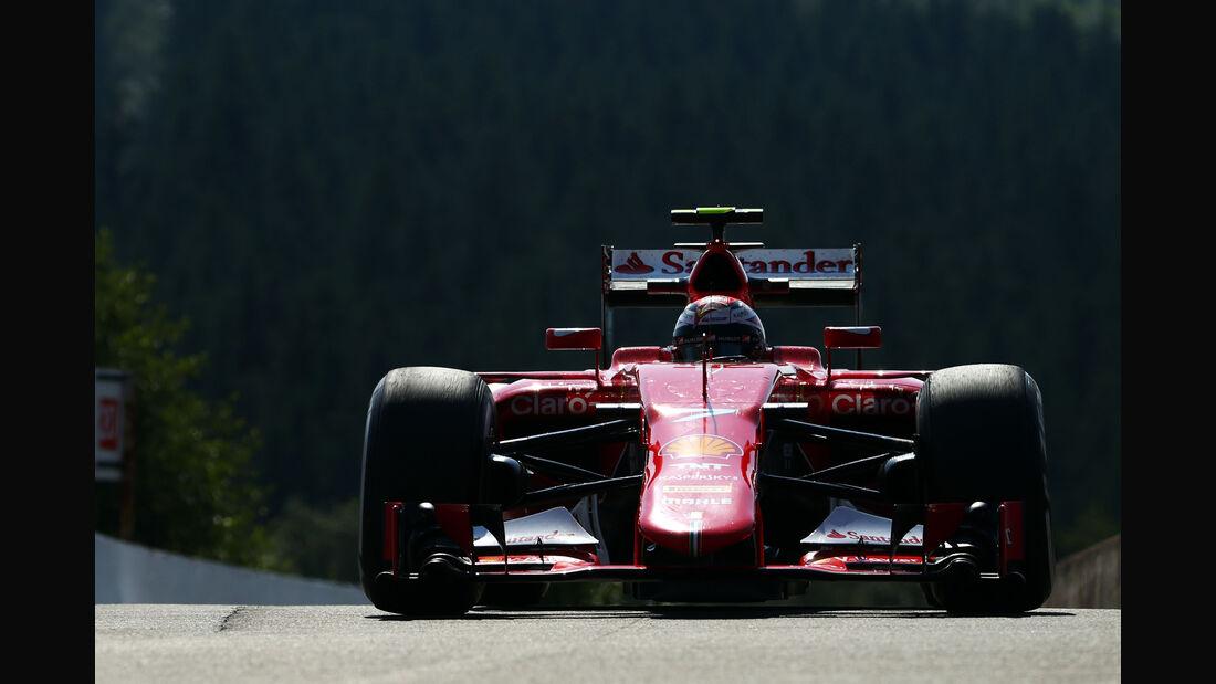 Kimi Räikkönen - Ferrari - Formel 1 - GP Belgien - Spa-Francorchamps - 21. August 2015