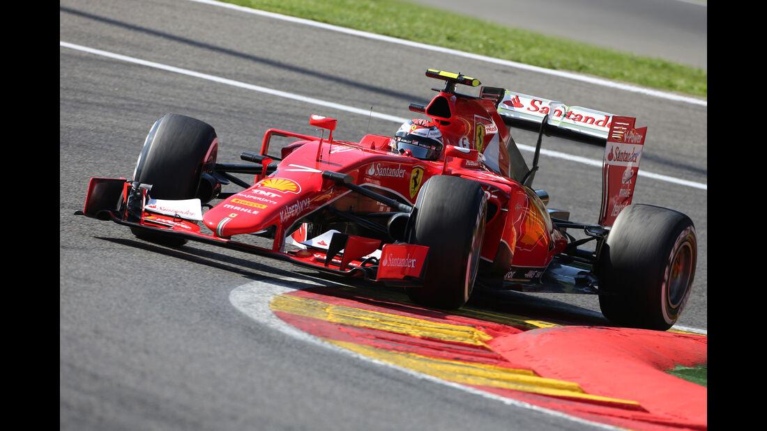 Kimi Räikkönen - Ferrari - Formel 1 - GP Belgien - Spa-Francorchamps - 22. August 2015