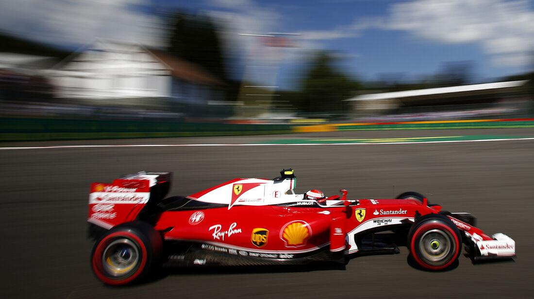 Kimi Räikkönen - Ferrari - Formel 1 - GP Belgien - Spa-Francorchamps - 27. August 2016