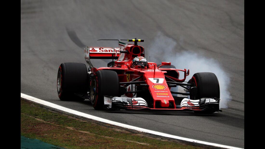 Kimi Räikkönen - Ferrari - Formel 1 - GP Brasilien - 11. November 2017