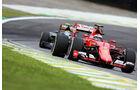 Kimi Räikkönen - Ferrari - Formel 1 - GP Brasilien- 15. November 2015