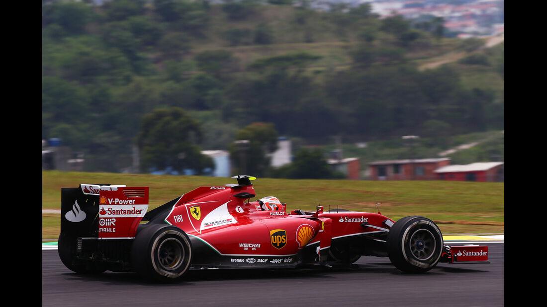 Kimi Räikkönen - Ferrari - Formel 1 - GP Brasilien - Sao Paulo - 7. November 2014