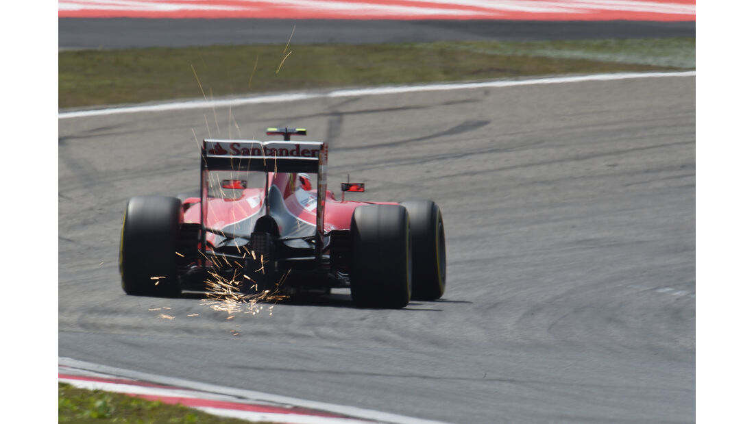 Kimi Räikkönen - Ferrari - Formel 1 - GP China - Shanghai - 11. April 2015