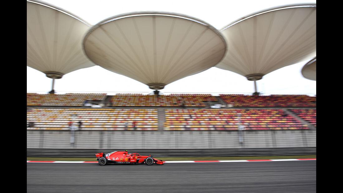 Kimi Räikkönen - Ferrari - Formel 1 - GP China - Shanghai - 13. April 2017