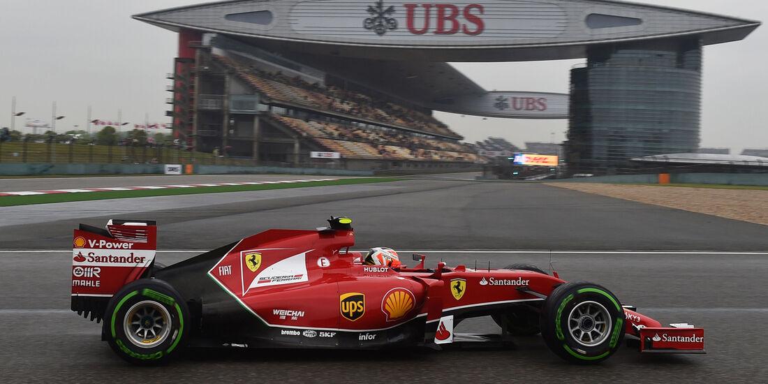 Kimi Räikkönen - Ferrari - Formel 1 - GP China - Shanghai - 19. April 2014