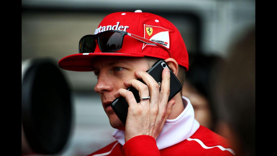 Kimi Räikkönen - Ferrari - Formel 1 - GP China - Shanghai - 6.4.2017