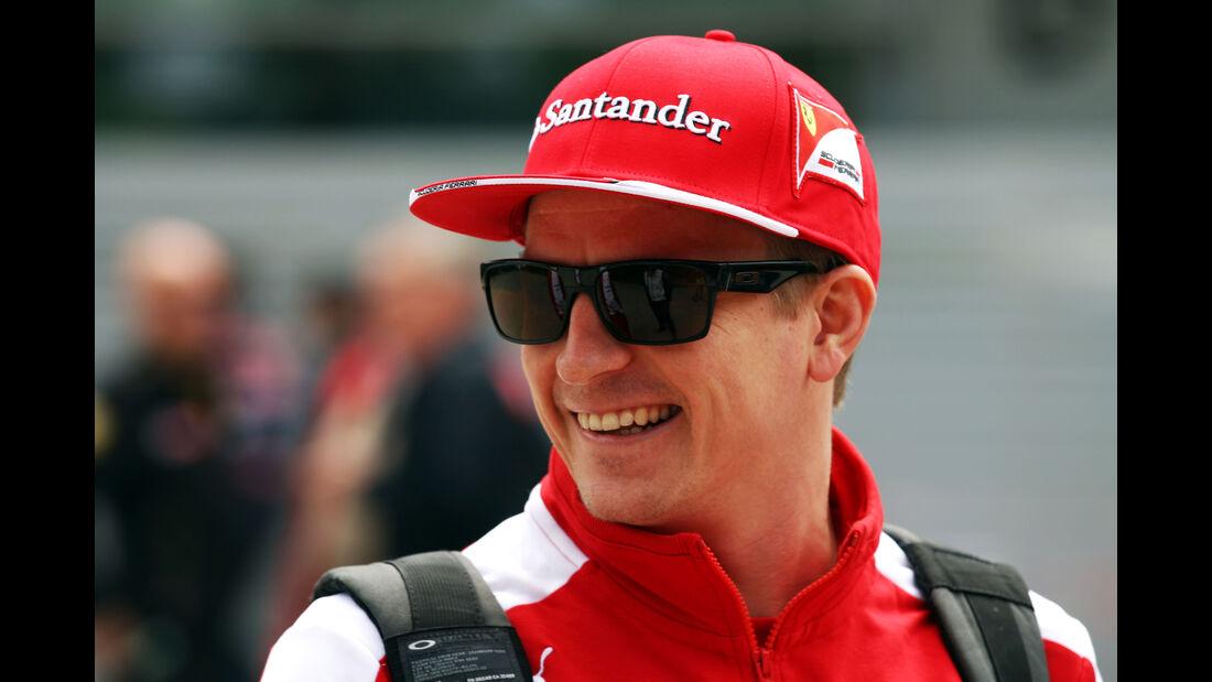 Kimi Räikkönen - Ferrari - Formel 1 - GP China - Shanghai - 9. April 2015