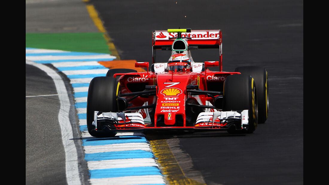 Kimi Räikkönen - Ferrari - Formel 1 - GP Deutschland - 29. Juli 2016