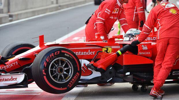 Kimi Räikkönen - Ferrari - Formel 1 - GP England - 14. Juli 2017